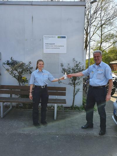 Dank an den KOD (Bild: © komba Ortsverband Münster)